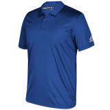 adidas Men's Grind Polo Royal/White