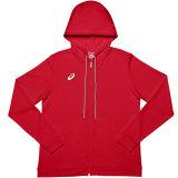 ASICS Women's French Terry Full-Zip Hoody Red
