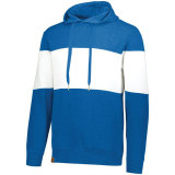 Holloway Men's Ivy League Hoodie Royal Heather/White