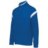 Holloway Men's Limitless Full Zip Jacket Royal/White