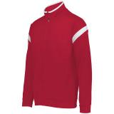 Holloway Men's Limitless Full Zip Jacket Scarlet/White