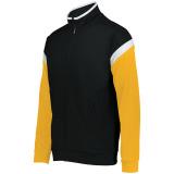 Holloway Men's Limitless Full Zip Jacket Black/White/Gold