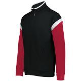 Holloway Men's Limitless Full Zip Jacket Black/White/Scarlet