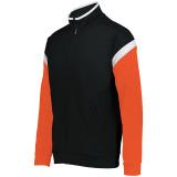 Holloway Men's Limitless Full Zip Jacket Black/White/Orange