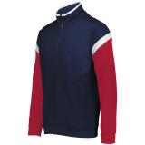 Holloway Men's Limitless Full Zip Jacket Navy/White/Scarlet