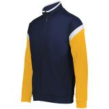 Holloway Men's Limitless Full Zip Jacket Navy/White/Gold