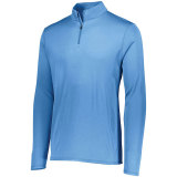 Augusta Men's Attain 1/4 Zip Pullover Columbia Blue