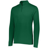 Augusta Men's Attain 1/4 Zip Pullover Dark Green