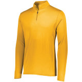Augusta Men's Attain 1/4 Zip Pullover Gold
