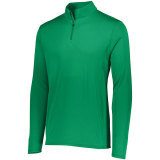 Augusta Men's Attain 1/4 Zip Pullover Kelly