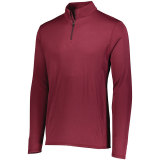 Augusta Men's Attain 1/4 Zip Pullover Maroon
