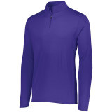 Augusta Men's Attain 1/4 Zip Pullover Purple