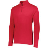 Augusta Men's Attain 1/4 Zip Pullover Red