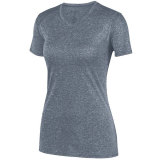 Augusta Women's Kinergy Heathered Jersey Graphite