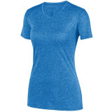 Augusta Women's Kinergy Heathered Jersey Royal