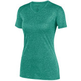 Augusta Women's Kinergy Heathered Jersey Dark Green