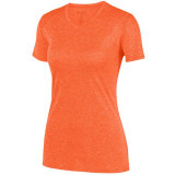 Augusta Women's Kinergy Heathered Jersey Orange