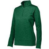 Augusta Women's Stoked Pullover Dark Green