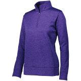 Augusta Women's Stoked Pullover Purple