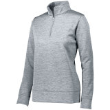 Augusta Women's Stoked Pullover Silver