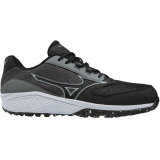 Mizuno Men's Dominant All Surface Low Turf Charcoal/Black