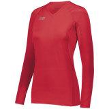 High Five Women's TRUHIT Long Sleeve Jersey Scarlet