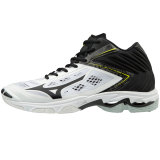 Mizuno Men's Wave Lightning Z5- MID White/Black