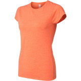 Women's Softstyle Tee Heather Orange