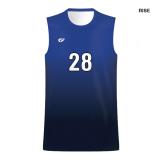 Custom Fuze Men's Sublimated Pro Series Sleeveless Jersey