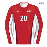 CustomFuze Men's Sublimated Select Series Long Sleeve Jersey