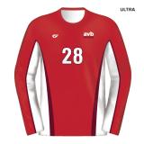 Custom Fuze Men's Sublimated Select Series Long Sleeve Jersey
