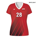 CustomFuze Women's Sublimated Select Series Cap Sleeve Jersey