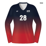 CustomFuze Women's Sublimated Select Series Long Sleeve Jersey