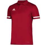 Adidas Men's Team 19 Polo Red