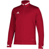 Adidas Men's Team 19 Track Jacket Red