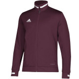 Adidas Men's Team 19 Track Jacket Maroon
