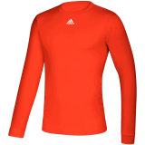 Adidas Men's Creator Long Sleeve Jersey Orange