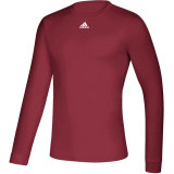 Adidas Men's Creator Long Sleeve Jersey Burgundy