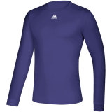 Adidas Men's Creator Long Sleeve Jersey Purple