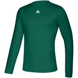 Adidas Men's Creator Long Sleeve Jersey Dark Green