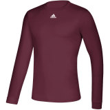 Adidas Men's Creator Long Sleeve Jersey Maroon