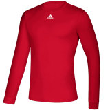 Adidas Men's Creator Long Sleeve Jersey Red