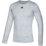 Adidas Men's Creator Long Sleeve Jersey Heather Gray