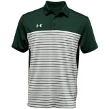 Under Armour Men's Stripe Mix-Up Polo Forest