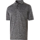 Holloway Men's Electrify 2.0 Polo Black Heather