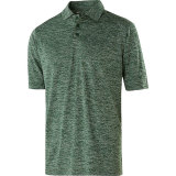 Holloway Men's Electrify 2.0 Polo Forest Heather