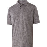 Holloway Men's Electrify 2.0 Polo Graphite Heather
