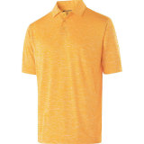Holloway Men's Electrify 2.0 Polo Light Gold Heather