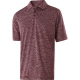 Holloway Men's Electrify 2.0 Polo Maroon Heather
