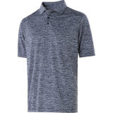 Holloway Men's Electrify 2.0 Polo Navy Heather